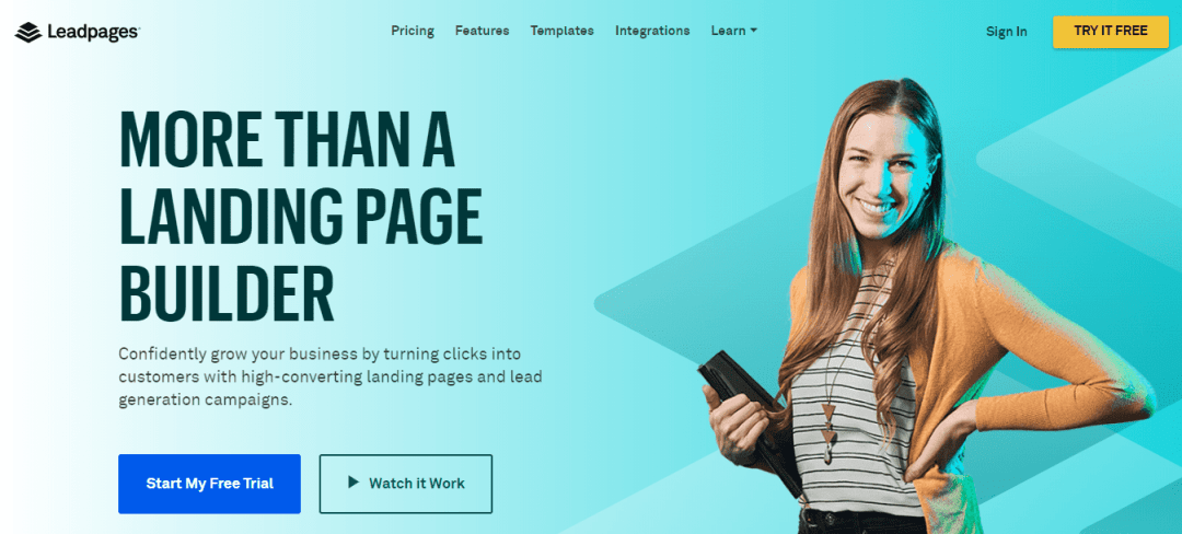 LeadPages1 Top 3 Extranet Landing Page Tools For 2019 Online Marketing WordPress