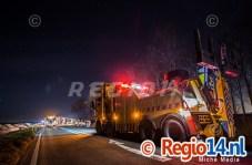 27mrt2015_Vrachtwagen op zijn kant N305 Zeewolde_0765