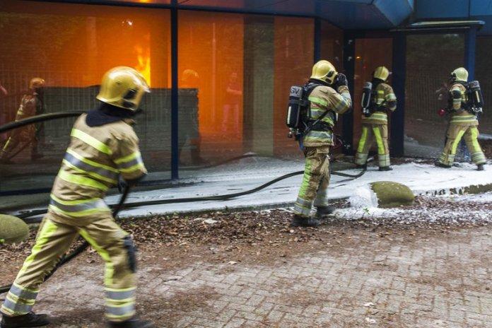 10mei2016_Brandweer oefening Vreelandseweg Hilversum_6316