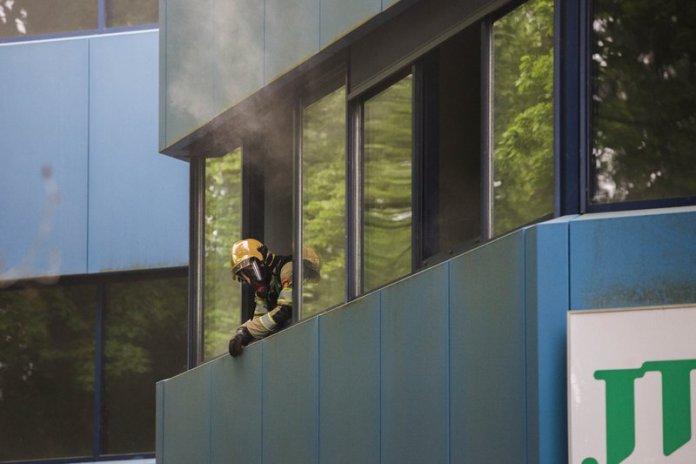 10mei2016_Brandweer oefening Vreelandseweg Hilversum_6415