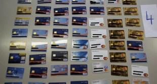 Cybercops Kreditkarten sichergestellt
