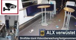 Vandalen verwüsten Bordbistro im Alex am Münchner Hauptbahnhof