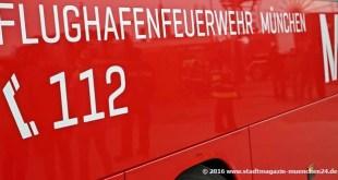 Feuerwehr Flughafen München