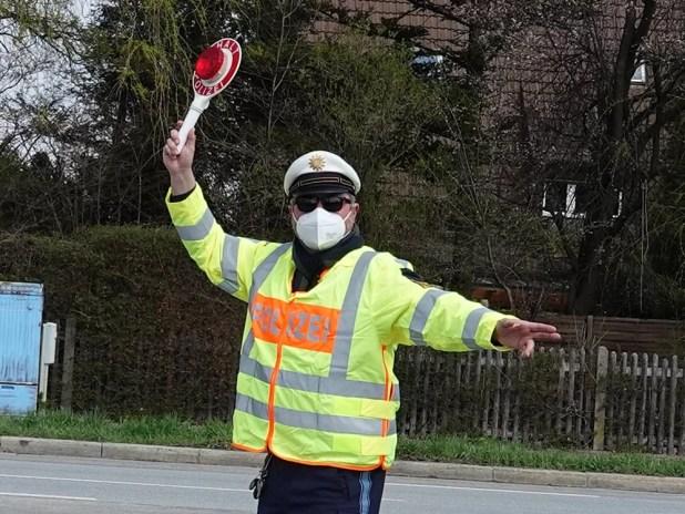 Blitzmarathon Polizeikontrolle Landkreis München