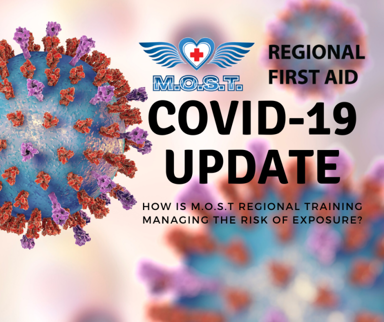 COVID-19 Update From MOST Regional Training