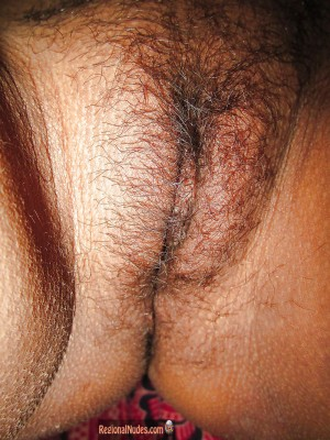 shaved pussy close up