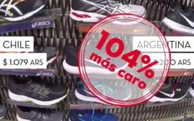 Un candidato argentino viajó a Chile a comparar precios
