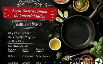 2º Feria Gastronómica de las Colectividades en San Juan