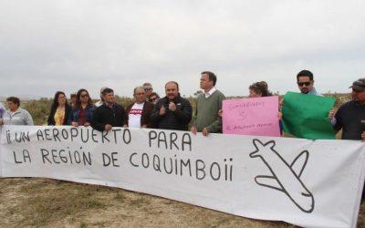 Coquimbo se manifestó a favor del Aeropuerto Internacional