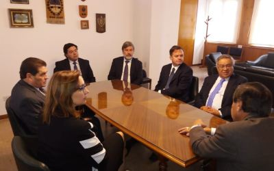 Chile estrecha vínculos con la justicia sanjuanina