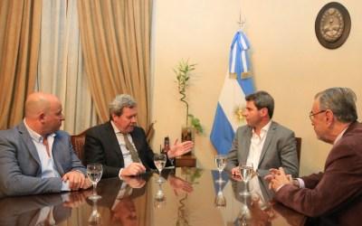 El cónsul general de Chile en Mendoza visitó San Juan