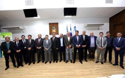 Trabajo conjunto entre intendentes de San Juan y alcaldes de la región de Coquimbo