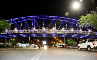 San Juan tiene un nuevo ícono tras la inauguración del puente de avenida Central