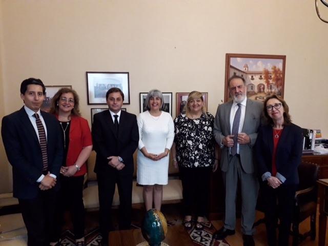 San Juan y la IV Región trabajan en un enlace interjurisdiccional