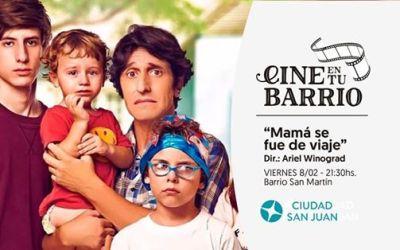 Cine al aire libre, gratis en San Juan