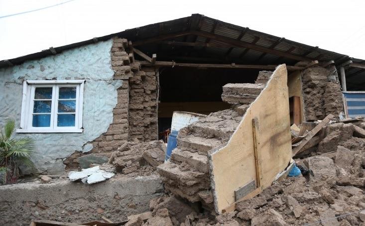 Casi 1.500 viviendas resultaron con daños por el terremoto de enero