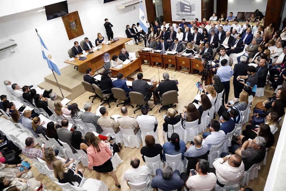 Importantes anuncios de Aranda en la apertura de sesiones de Capital