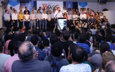 """El gobernador Uñac habló tras los comicios en San Juan: """"Acá hemos ganado todos"""""""