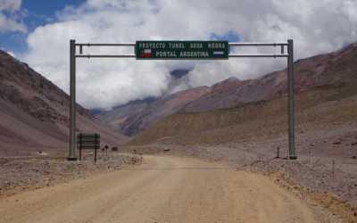 En mayo, Chile entregará un informe sobre la situación del Túnel de Agua Negra