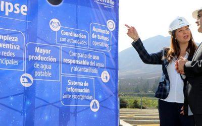 Región de Coquimbo reforzará el abastecimiento de agua potable durante la semana del eclipse