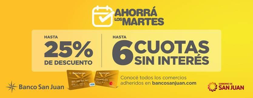 Junio, un mes de beneficios con tarjetas de Banco San Juan