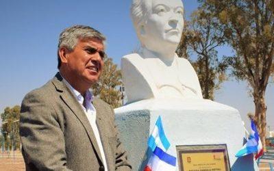 Gabriela Mistral, presente en el Parque Libertadores de América de Caucete