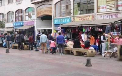 Aglomeraciones en el centro de La Serena y Coquimbo