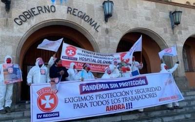 Región de Coquimbo: Dirigentes de la salud exigen cuarentena ante aumento de casos de Covid-19