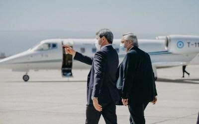 Primera visita oficial del presidente Alberto Fernández a San Juan