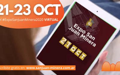 Expo San Juan Minera: Tres días a pura minería desde tu computadora