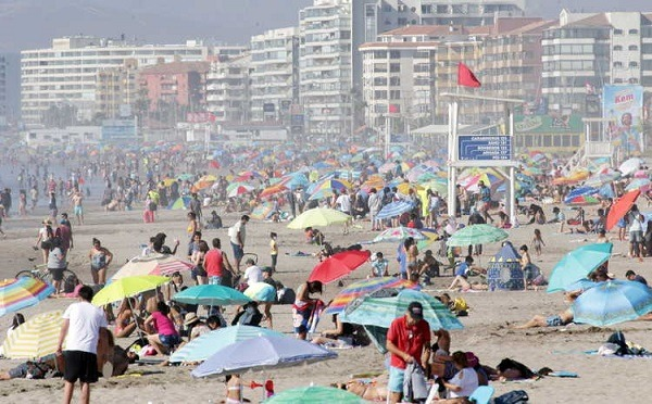 Toda la Región de Coquimbo retrocede a fase 3 la segunda quincena de enero