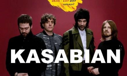 Kasabian выступят на Atlas Weekend 2017 в Киеве!