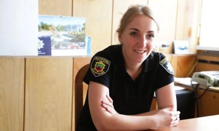 Посада начальниці запорізьких патрульних дісталась дівчині зі Львова