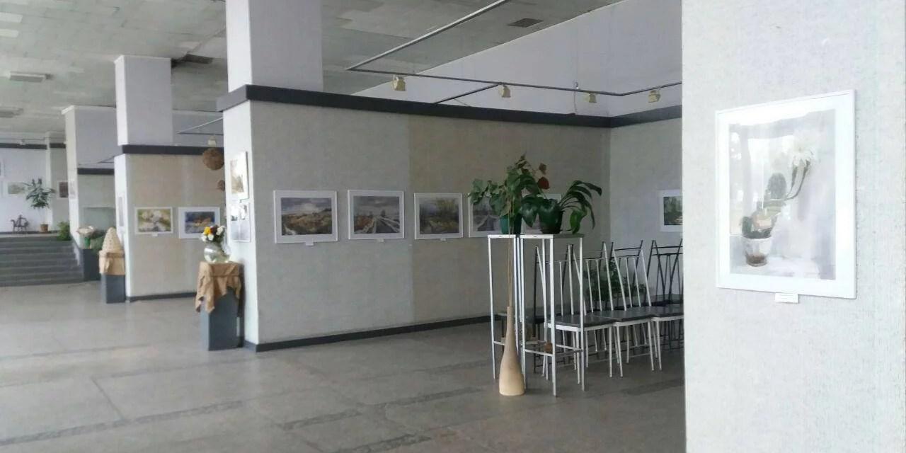 Запоріжцям представили виставку художників, чиї роботи прикрашають колекції в різних країнах світу