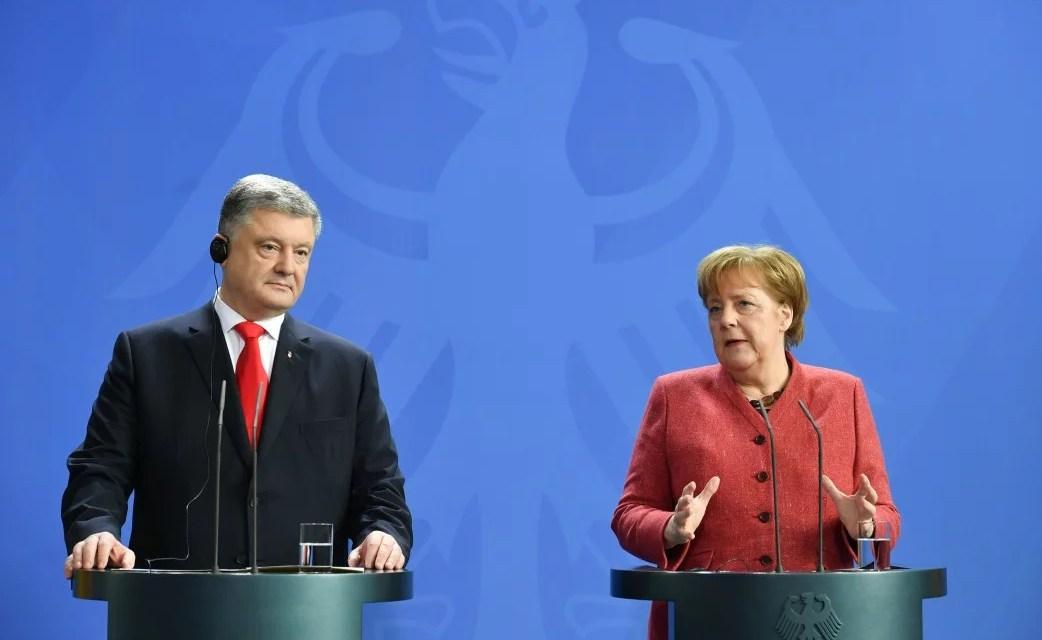 На зустрічі з Президентом України Ангела Меркель відзначила стабільність, довіру та економічне зростання – відео
