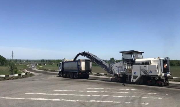 На Запоріжжі розпочали ремонт стратeгічно важливої траси Н-08
