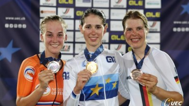 Photo of Zilver voor Marit Raaijmakers op EK Derny