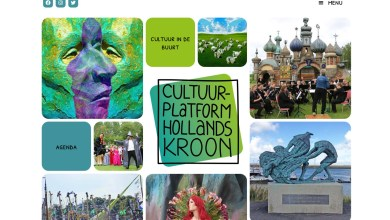 Photo of Website Cultuur Platform Hollands Kroon van start