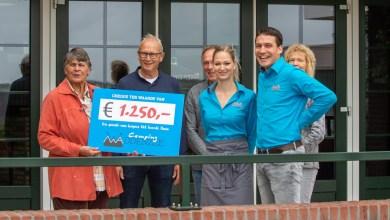 Photo of Donatie camping Waddenzee voor Hospice