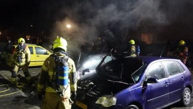 Photo of Twee auto's uitgebrand in Anna Paulowna