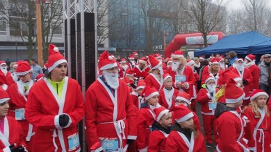 Photo of Santa Run in Helderse binnenstad