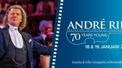 Photo of André Rieu viert zijn 70e verjaardag via Kinepolis