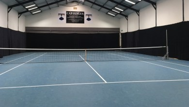 Photo of Indoor tennistraining in tennishal 't Schapendijkje