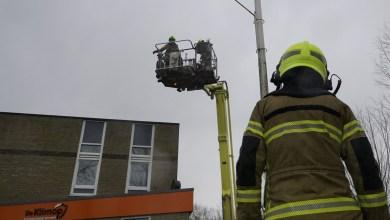 Photo of Unit voor klimaatbeheersing waait bijna van dak woonvorm