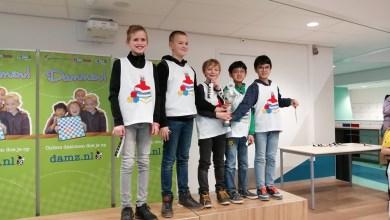 Photo of Pupillen De Hofstee schooldamkampioen Noord-Holland