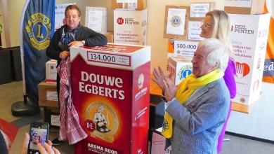 Photo of Karrenvrachten koffie voor Voedselbank Den Helder