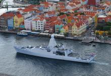 Photo of Zr.Ms. Zeeland nieuwe stationsschip Caribisch gebied