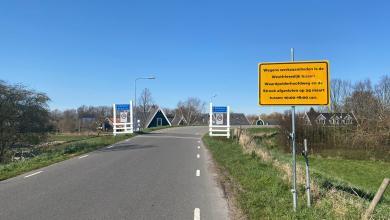 Photo of Wegafsluiting Westfriesedijk