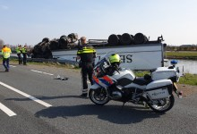 Photo of N9 afgesloten na crash vrachtwagen