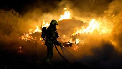 Photo of Brandweer in actie aan de Nieuweweg